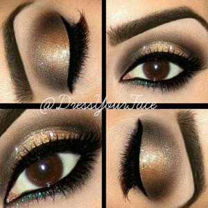20 примеров макияжа для карих глаз