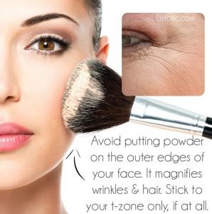 Как правильно пользоваться пудрой для лица