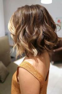 Окрашивание Омбре на короткие волосы